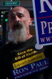 Moi: Post Katrina As District Coordinator for NOLA 2007 'Psyoping' for Fraud Ron Paul