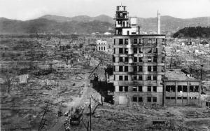 HIROSHIMA DESTRUCTION 1945