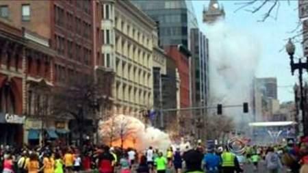 Photograph of Boston Fireball - 2nd Explosion