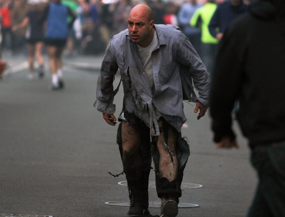 Boston Marathon: The Finish Line For US Treason.  Drill Death.  Everything Is In Place For Police State. by Ed Ward, MD (1/3)