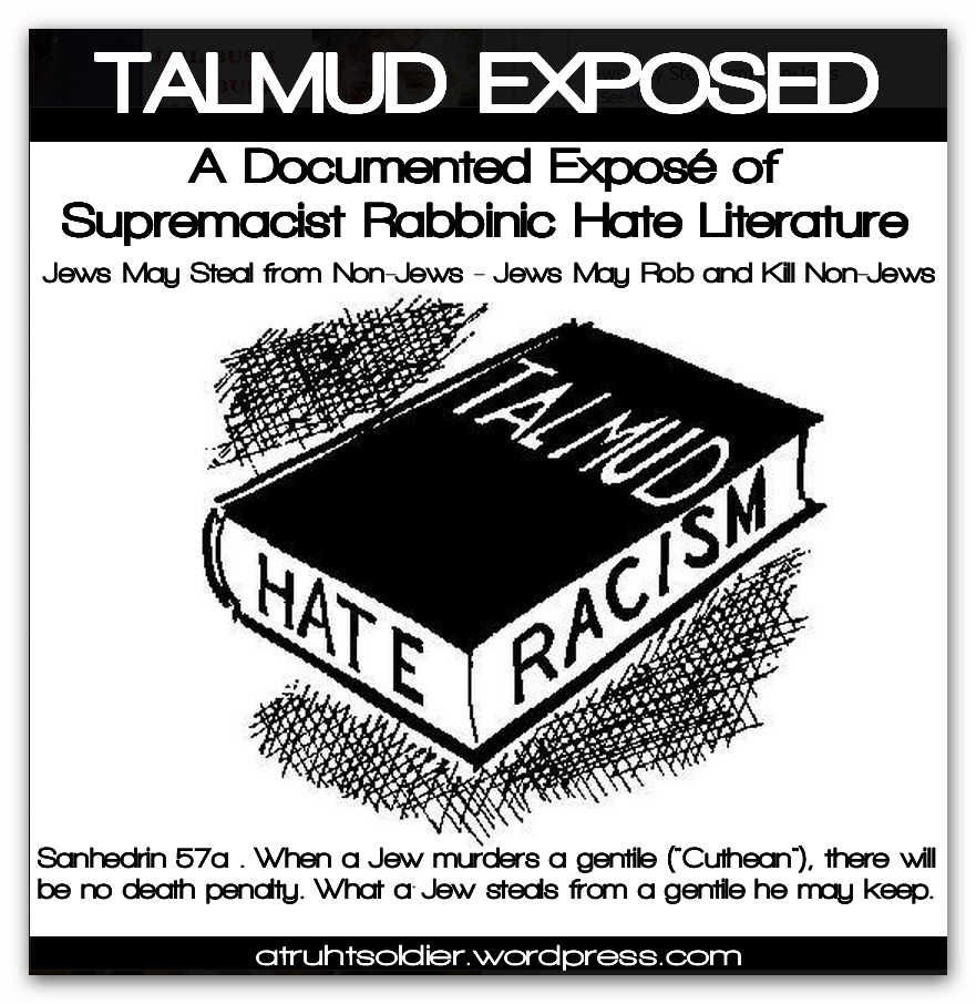 Talmud The Bible Of Genocidal Bigots Conflicting