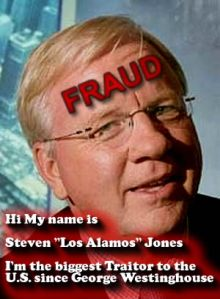Dr. Steven E Jones, PhD - Fraud