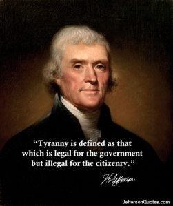 Got Tyranny?