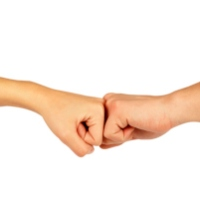 The Fist Bump Cures A Lot - Halt the Handshake for Health.