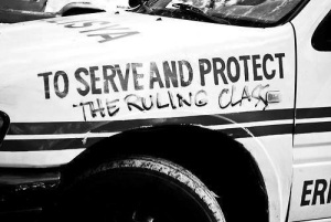 Nazi Cops Serve and Protect the Ruling Class
