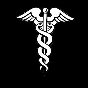 Psychiatry Symbol PSI  http://www.stipsi.gr/alphabet/pse.htm + The Medical Symbol